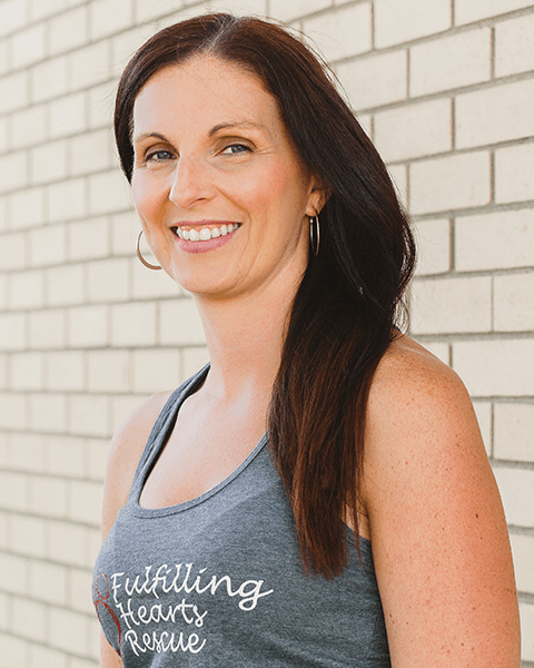 Profile picture of Amanda Theriault, Director of Fulfilling Hearts Rescue